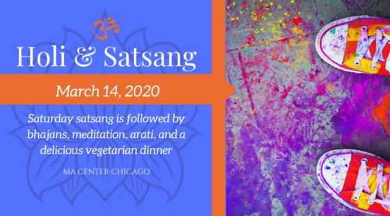Holi Festivities & Satsang