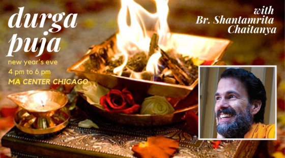 New Year's Eve & Durga Puja with Br. Shantamrita Chaitanya
