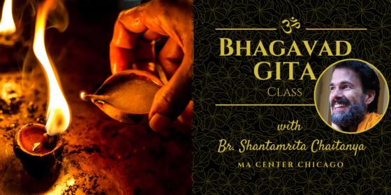 Bhagavad Gita Class with Br. Shantamrita Image