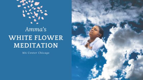 Amma's White Flower Meditation