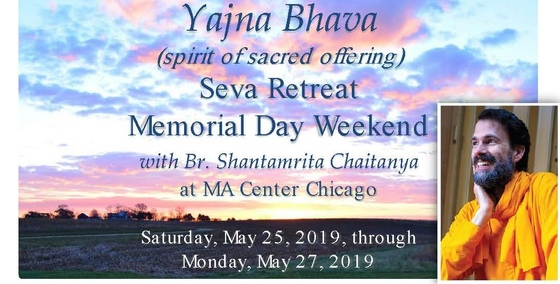 Yajna Bhava - A Weekend Retreat with Br. Shantamrita Chaitanya