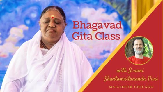 Bhagavad Gita Class with Swami Shantamritananda Puri