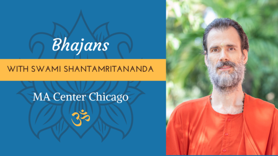 Bhajans with Swamiji