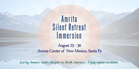 Amrita Silent Retreat Immersion