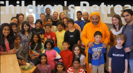 Children's Retreat with Br. Dayamrita Chaitanya on July 19th