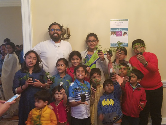 Br. Ramanand with ABK children