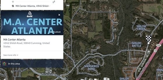 Satellite View - M.A. Center, Atlanta