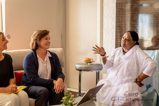 Amma visits Washington DC - North America Summer Tour 2019