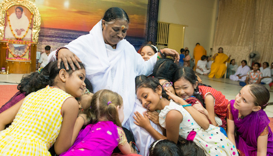 Amma's visit to North America in 2017