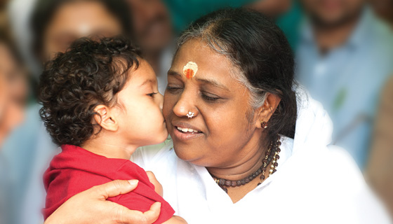 Amma in New England - Summer 2014