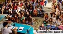 Ramakrishna Swami visits South America