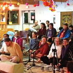 group singing bhajans