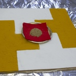 Yantra made with powders