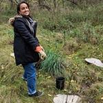 AYUDH volunteer planting trees