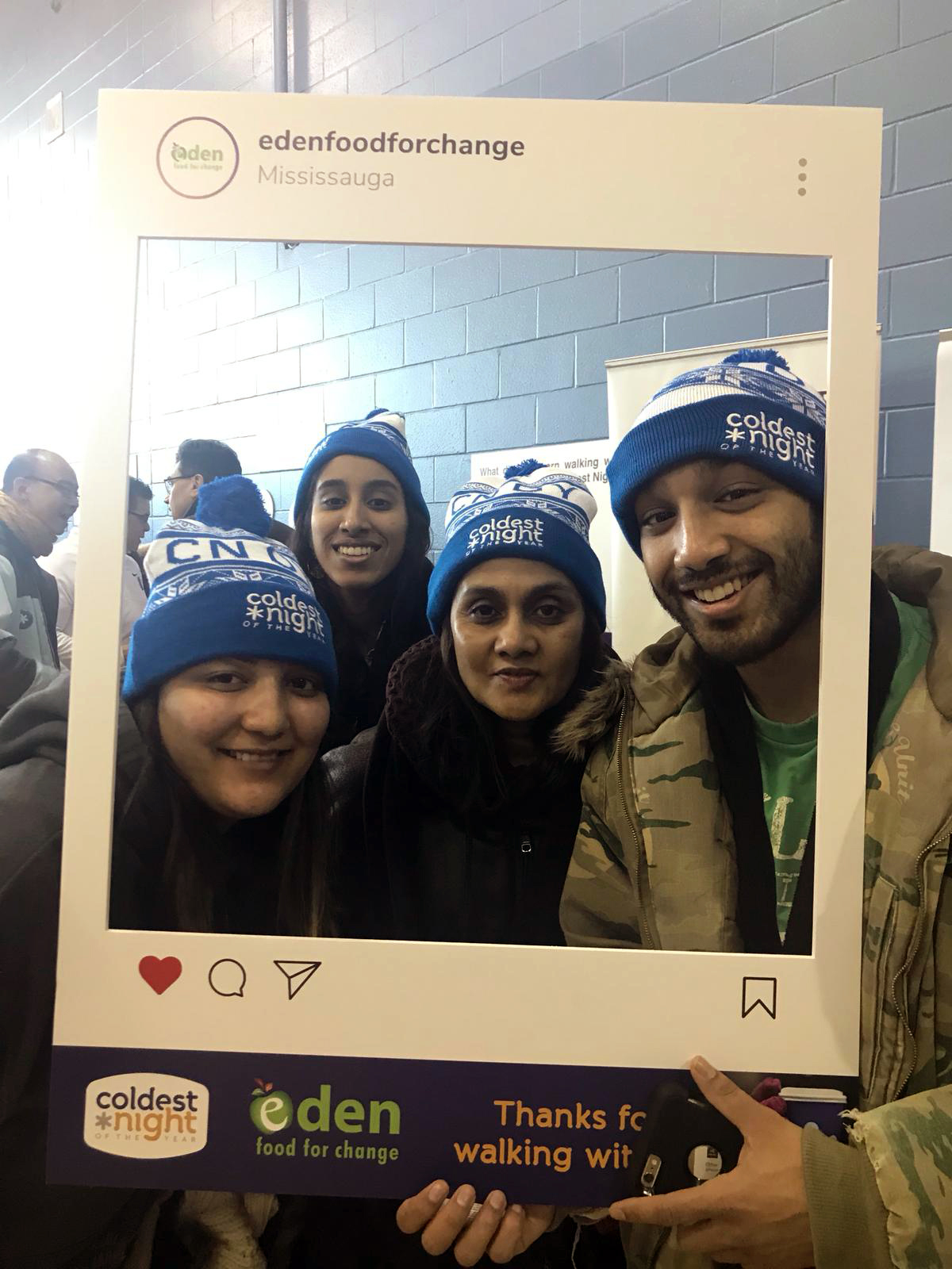 Youth participating in CNOY walkathon